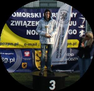 """Dominik Brzeziński - UKS """"Dwójka"""" Morena Gdańsk, trener Monika Smaruj"""